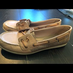 Blush Colored Sperry Boat Shoes!